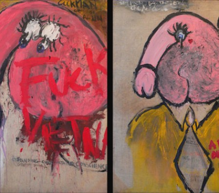 Fuck Vietnam (Early Paintings of Judith Bernstein)