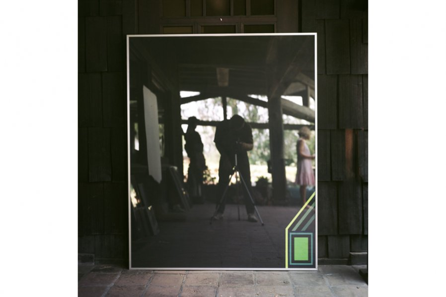 Photos of Black Glass Paintings 1965 Image Courtesy of the artist and the Box