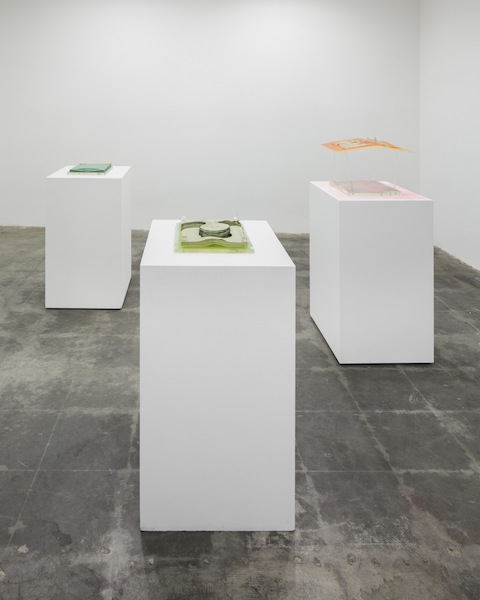 Barbara T Smith Xerox sculptures Installation View  2013