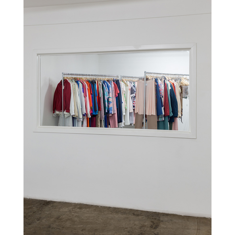 Howard Fried  The Decomposition of My Mother's Wardrobe 2014-15 Installation view Photo: Fredrik Nilsen