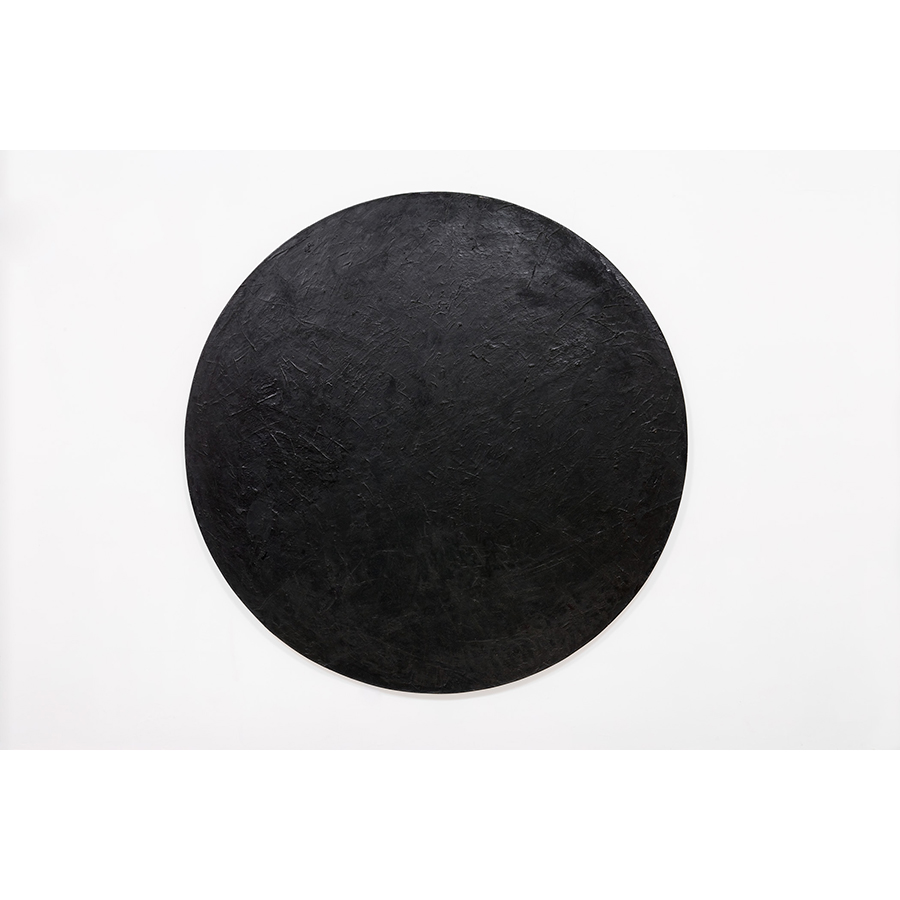 Wally Hedrick Rhondo 1970-92, 2002 Oil on canvas Diameter: 82 inches